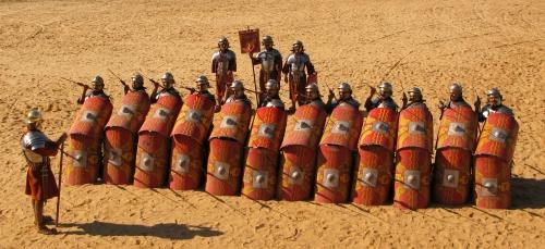 Romans Battle Tactics images